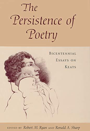 Persistence of Poetry (Hardcover): Robert M. Ryan