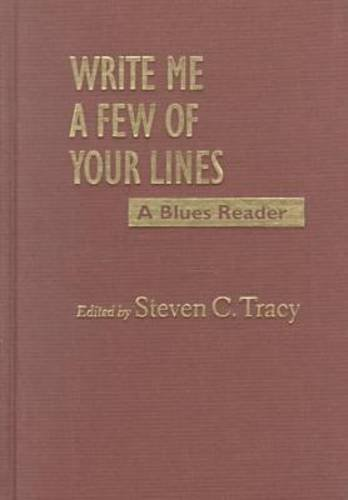 9781558492059: Write Me a Few of Your Lines: A Blues Reader