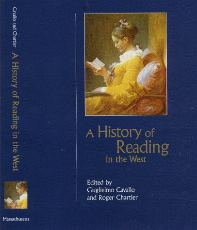 9781558492134: A History of Reading in the West (Studies in Print Culture and the History of the Book)