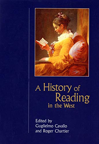 9781558494114: A History of Reading in the West (Studies in Print Culture and the History of the Book)