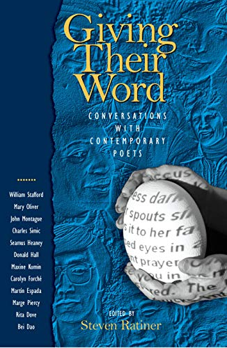 9781558494411: Giving Their Word: Conversations with Contemporary Poets
