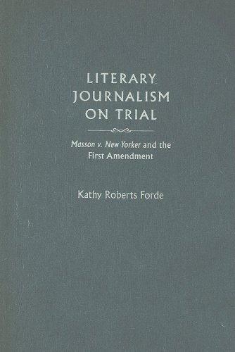 9781558496521: Literary Journalism on Trial: Masson 5, New Yorker and the First Amendment