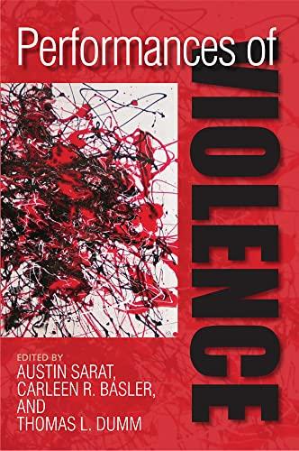 Performances of Violence: University of Massachusetts Press