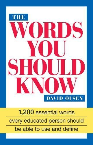 The Words You Should Know: Olsen, David