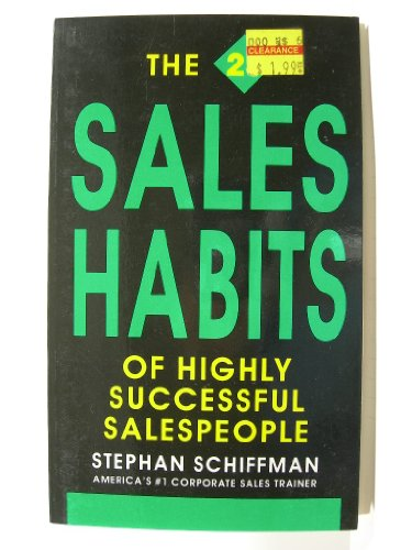9781558500402: The 25 Sales Habits of Highly Successful Salespeople
