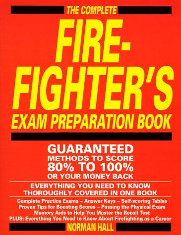 9781558500525: Firefighters Exam Prep Book