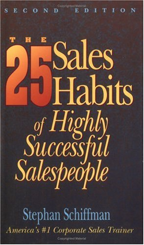 9781558503915: The 25 Sales Habits of Highly Successful Salespeople