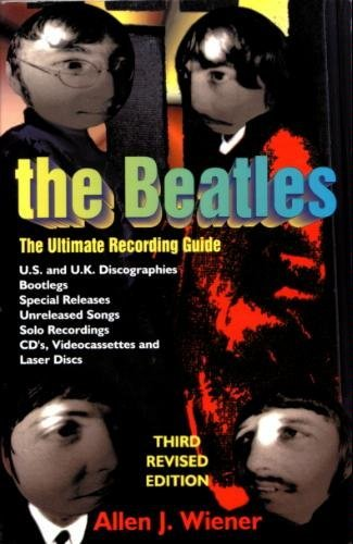"9781558504141: The ""Beatles"": The Ultimate Recording Guide"