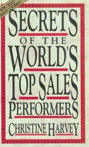 9781558508521: Secrets Of Top Sales Performer