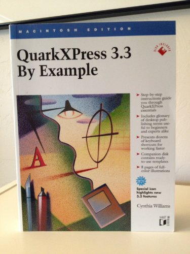 9781558514232: Quarkxpress 3.3 by Example: Macintosh Edition