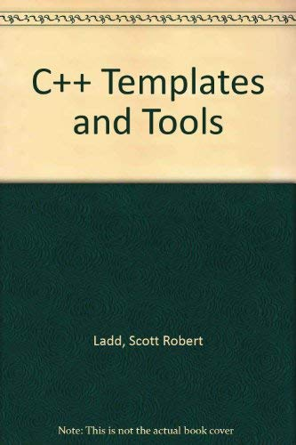 C++ Templates and Tools (Mit Diskette).
