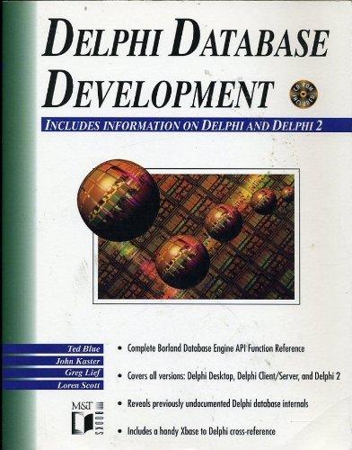 Delphi Database Development: Kaster, John, Lief,