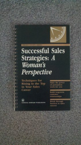 Successful sales strategies: A woman's perspective (Productivity: Brewer, Kristine C