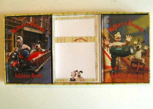 9781558535626: Wallace & Gromit Gift Box: Blank Book, Address Book