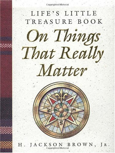 9781558537477: Life's Little Treasure Book on Things That Really Matter (Life's Little Treasure Books)