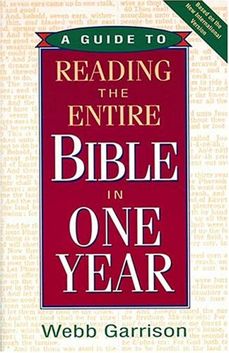 9781558537835: A Guide to Reading the Entire Bible in One Year