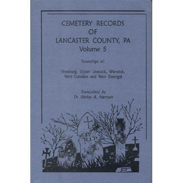 9781558563896: Cemetery Records of Lancaster County, Pennsylvania