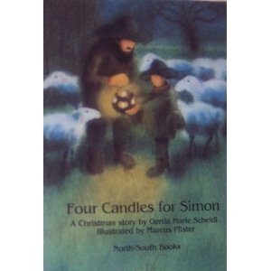 9781558580336: Four Candles for Simon: A Christmas story