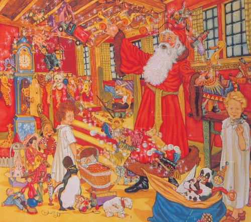 Dreams St. Nicholas Advent Calender (9781558582231) by Michael Hague