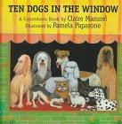 9781558587557: Ten Dogs the Window, Little Book Grade 1: Harcourt School Publishers Trophies