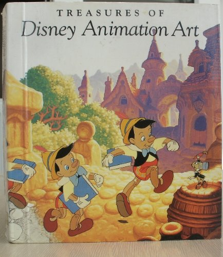 9781558593350: Treasures of Disney Animation Art