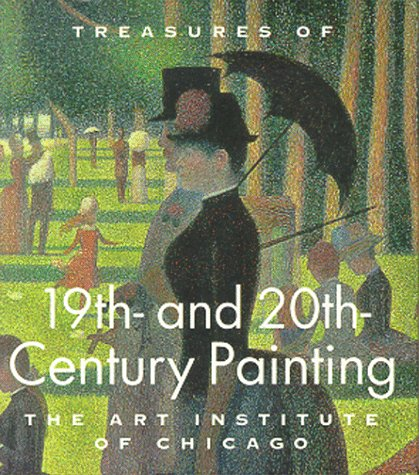 9781558596030: Treasures of 19th and 20th Century Painting: The Art Institute of Chicago (Tiny Folios)