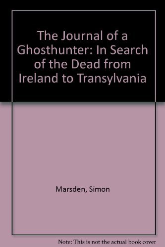 9781558598720: The Journal of a Ghosthunter