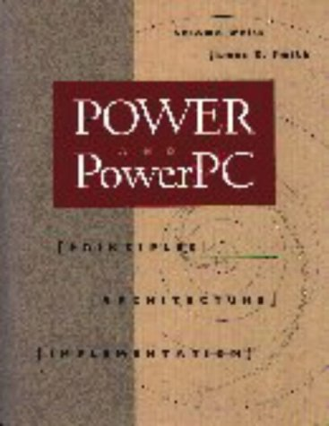 Power and Power PC 9781558602793 This book is an in-depth exploration of RISC technology through a very significant family of high-performance computers: the POWER and PowerPC architectures and their implementations (POWER1, POWER2, and the PowerPC 601). Since their first use in IBM's successful RISC System/6000, these processors have provided an excellent demonstration of the interplay between architecture and implementation. Shlomo Weiss and Jim Smith use their experience as developers and instructors in high-performance computing to combine substantial explanation with discussion of the design choices and alternatives not chosen by the implementors. Weiss and Smith provide an illuminating example of how an instruction-set design can evolve to address the needs of different markets. They also show how the PowerPC derives from the POWER architecture to create the single-chip implementations that are now planned for widely varied commercial applications. POWER and PowerPC is intended for professionals seeking greater knowledge of second generation RISCs in general, as well as anyone exploring superscalar machines and the IBM RISC System/6000 or the PowerPC in particular. Valuable to software designers and analysts interested in performance optimization, this book brings to light the subtle hardware/software interactions that are central to the RISC paradigm.