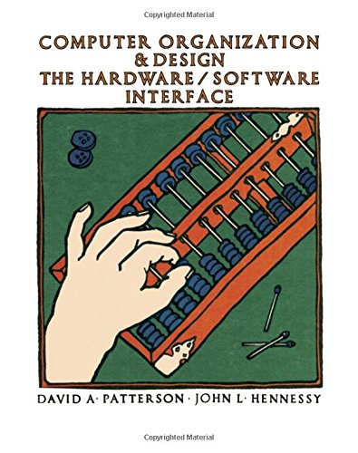 Computer Organization And Design The Hardware Software Interface Abebooks