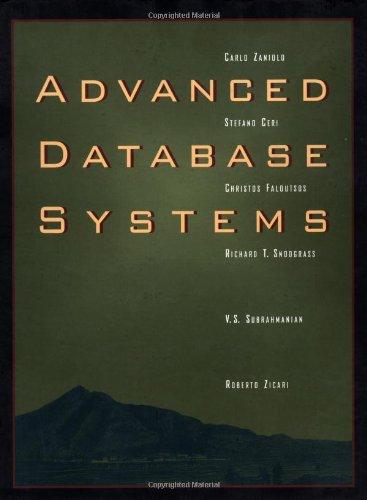 Advanced Database Systems: Stefano Ceri; Carlo