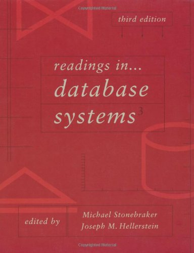 9781558605237: Readings in Database Systems, Third Edition (The Morgan Kaufmann Series in Data Management Systems)
