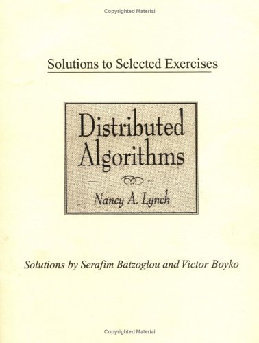 9781558605428: Distributed Algorithms Instructrs Mnl Tx