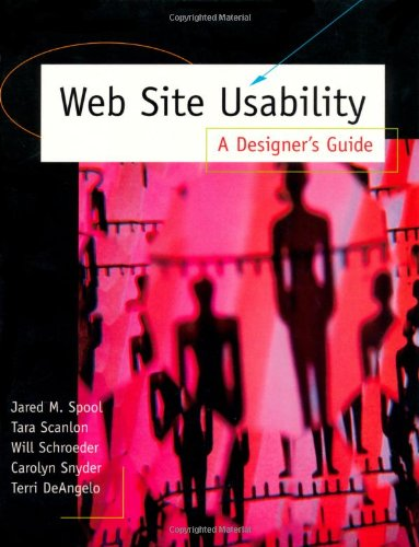 9781558605695: Web Site Usability: A Designer's Guide (Interactive Technologies)