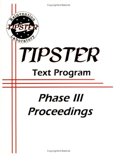Tipster Text Program: Phase III Proceedings October 1996-October 1998: Author Unknown