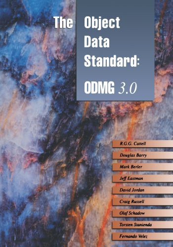 9781558606470: The Object Data Standard: ODMG 3.0 (The Morgan Kaufmann Series in Data Management Systems)