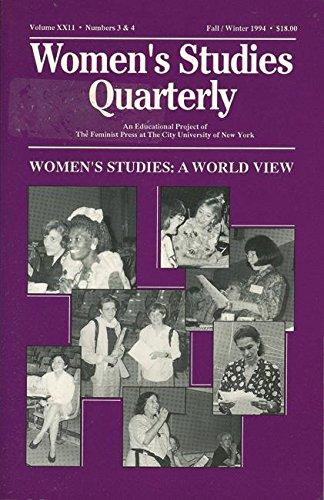 9781558611337: Women's Studies Quarterly (94:3-4): Women's Studies: A World View (v. 22, No. 3 & 4)