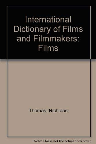 Cover art for International Dictionary of Films and Filmmakers