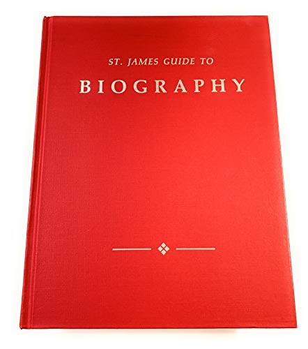 9781558621466: St. James Guide to Biography