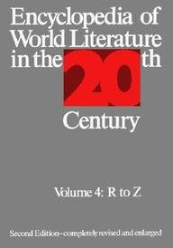 Encyclopedia of World Literature in the 20th