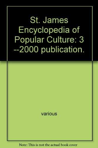 St. James Encyclopedia of Popular Culture: 3: Tom Pendergast, Sara