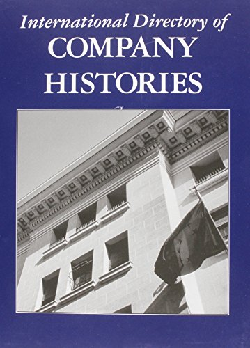 9781558625051: International Directory of Company Histories