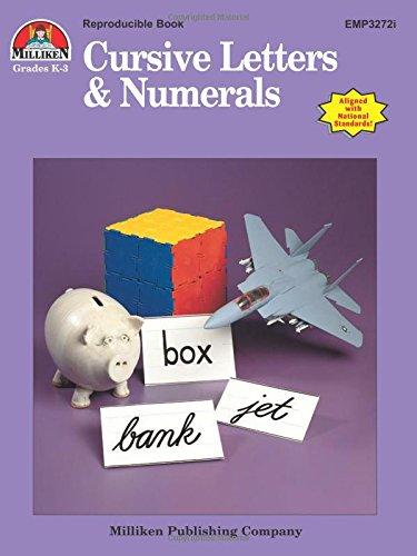 9781558630659: Cursive Letters & Numerals