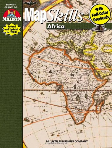 Map Skills Africa By R Scott House Milliken Publishing Company - Us map skills grade 5