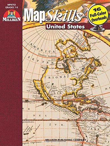 Map Skills, United States: Grades 7, 8,: R. Scott House,