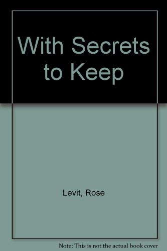 9781558701977: With Secrets to Keep