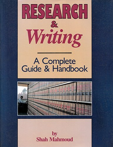 9781558702431: Research & Writing: A Complete Guide & Handbook