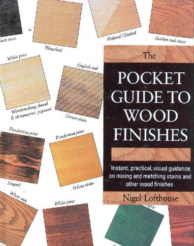 Pocket Guide to Wood Finishes, The: Instant, practical, visual guidance on mixing and matching st...