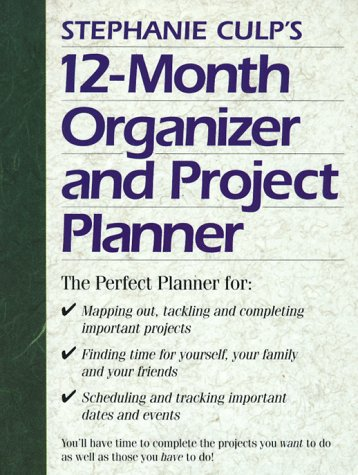 9781558703605: Stephanie Culp's 12 Month Organizer and Project Planner