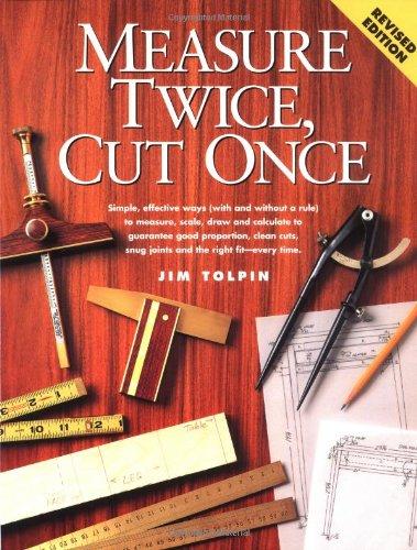 9781558704282: Measure Twice, Cut Once