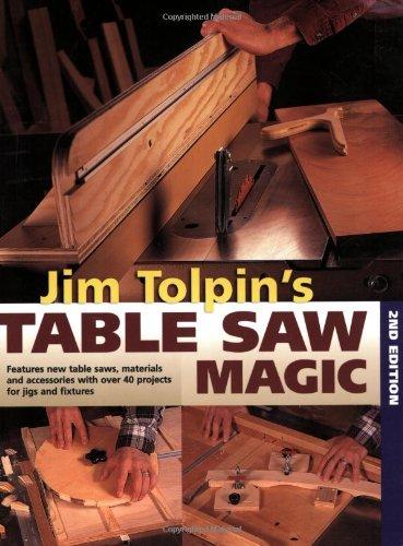 Jim Tolpin's Table Saw Magic (Popular Woodworking): Tolpin, Jim